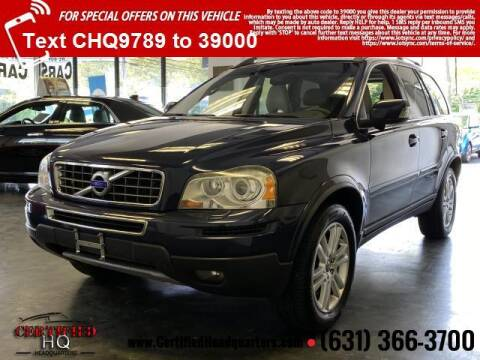 2012 Volvo XC90 for sale at CERTIFIED HEADQUARTERS in St James NY
