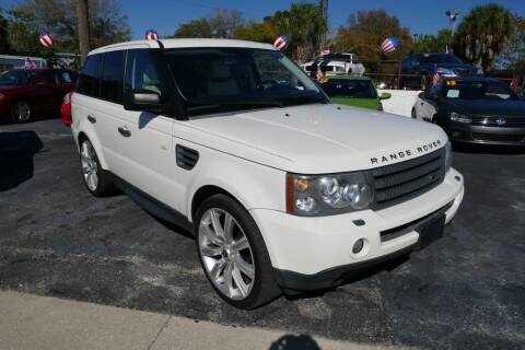 2009 Land Rover Range Rover Sport for sale at J Linn Motors in Clearwater FL