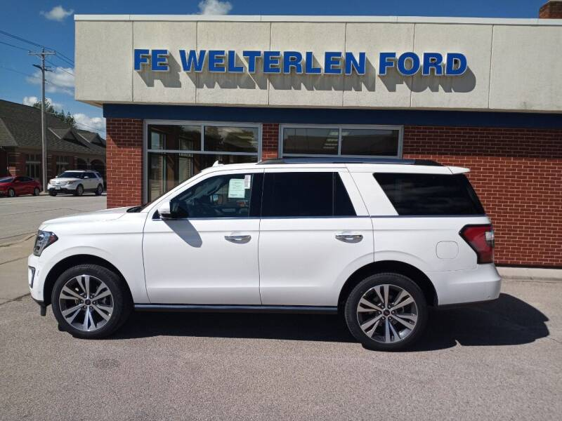 2021 Ford Expedition for sale at Welterlen Motors in Edgewood IA