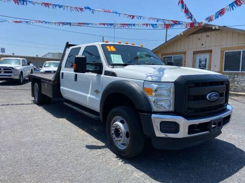 2016 Ford F-550 Super Duty for sale at The Trading Post in San Marcos TX