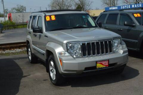 2008 Jeep Liberty for sale at Performance Motor Cars in Washington Court House OH