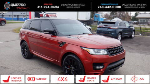 2014 Land Rover Range Rover Sport for sale at Quattro Motors 2 - 1 in Redford MI
