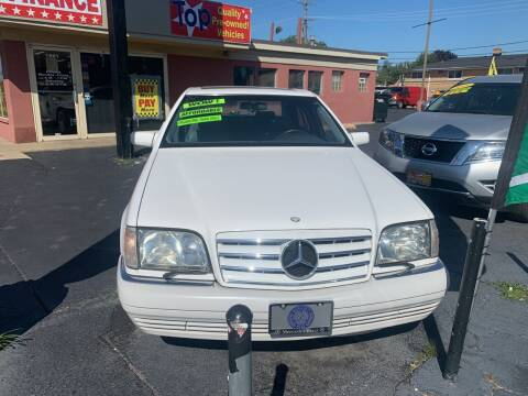 1996 Mercedes-Benz S-Class for sale at RON'S AUTO SALES INC in Cicero IL