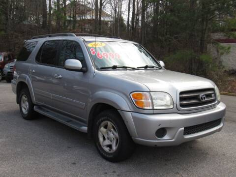 2002 Toyota Sequoia for sale at Discount Auto Sales in Pell City AL