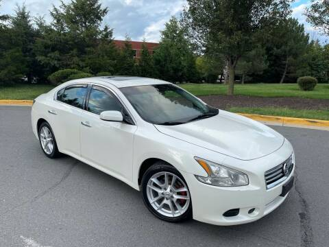 2014 Nissan Maxima for sale at Aren Auto Group in Sterling VA