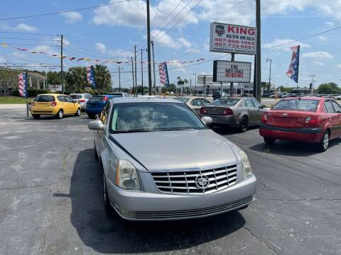 2006 Cadillac DTS for sale at King Auto Deals in Longwood FL