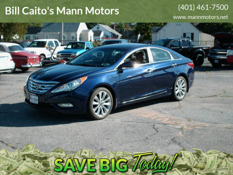 2013 Hyundai Sonata for sale at Bill Caito's Mann Motors in Warwick RI
