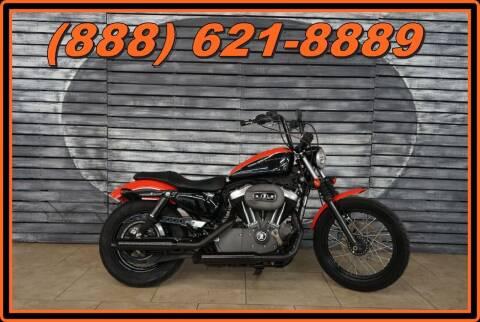 2009 Harley-Davidson XL1200 for sale at AZautorv.com in Mesa AZ