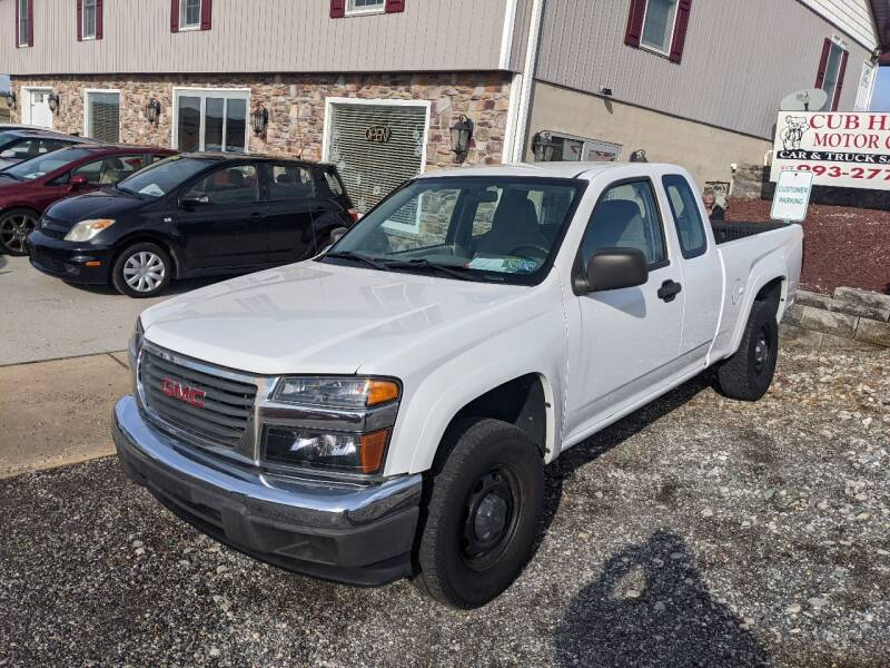 2007 GMC Canyon for sale at Cub Hill Motor Co in Stewartstown PA