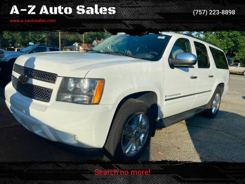 2009 Chevrolet Suburban for sale at A-Z Auto Sales in Newport News VA