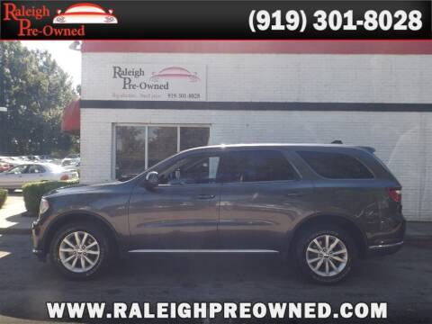 2015 Dodge Durango for sale at Raleigh Pre-Owned in Raleigh NC
