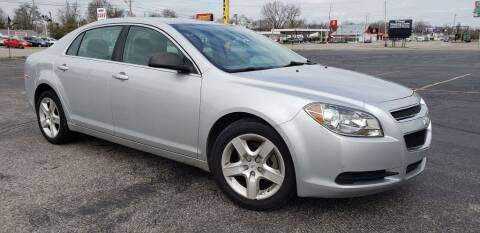 2012 Chevrolet Malibu for sale at speedy auto sales in Indianapolis IN