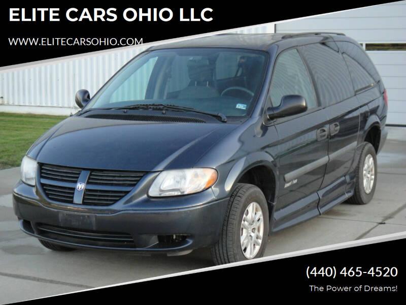 2007 Dodge Grand Caravan for sale at ELITE CARS OHIO LLC in Solon OH