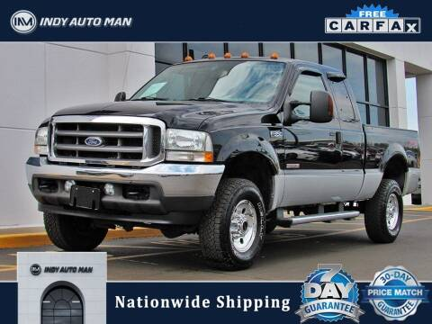 2004 Ford F-350 Super Duty for sale at INDY AUTO MAN in Indianapolis IN