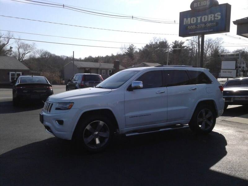 2014 Jeep Grand Cherokee for sale at Route 106 Motors in East Bridgewater MA