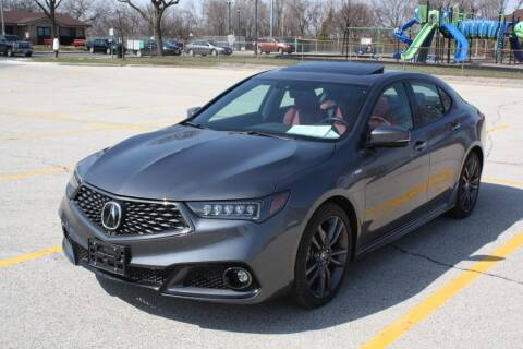 2019 Acura TLX for sale at A-Auto Luxury Motorsports in Milwaukee WI