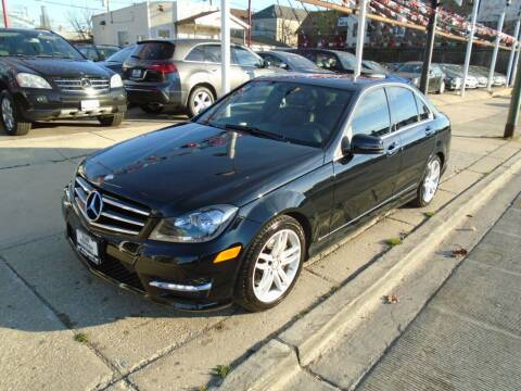 2014 Mercedes-Benz C-Class for sale at CAR CENTER INC in Chicago IL