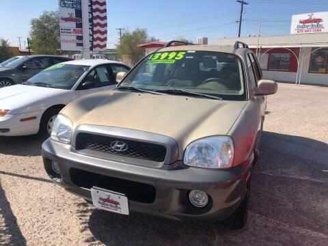 2004 Hyundai Santa Fe for sale at Senor Coche Auto Sales in Las Cruces NM