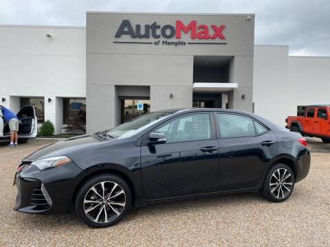 2017 Toyota Corolla for sale at AutoMax of Memphis in Memphis TN