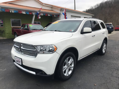 2011 Dodge Durango for sale at PIONEER USED AUTOS & RV SALES in Lavalette WV