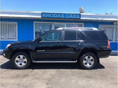 2003 Toyota 4Runner for sale at Khodas Cars in Gilroy CA