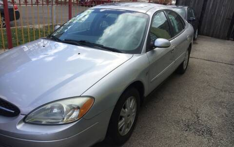 2003 Ford Taurus for sale at HW Used Car Sales LTD in Chicago IL