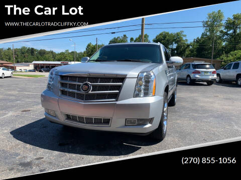 2013 Cadillac Escalade ESV for sale at The Car Lot in Radcliff KY