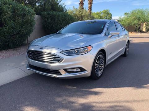 2018 Ford Fusion Hybrid for sale at Arizona Hybrid Cars in Scottsdale AZ