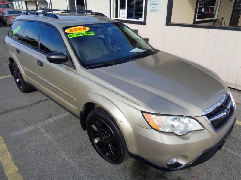 2008 Subaru Outback for sale at BBL Auto Sales in Yakima WA