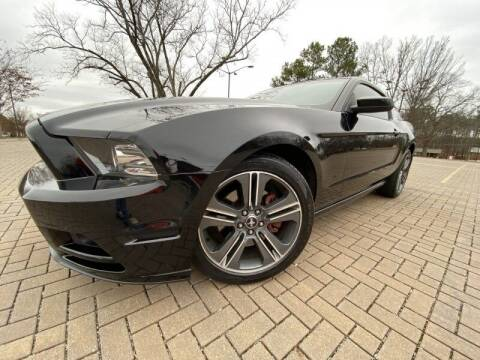 2013 Ford Mustang for sale at JES Auto Sales LLC in Fairburn GA