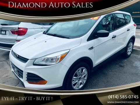 2016 Ford Escape for sale at Diamond Auto Sales in Milwaukee WI