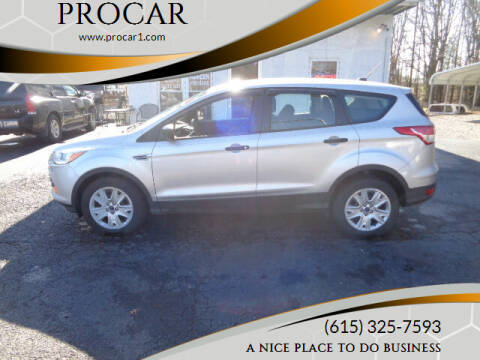 2016 Ford Escape for sale at PROCAR LLC in Portland TN