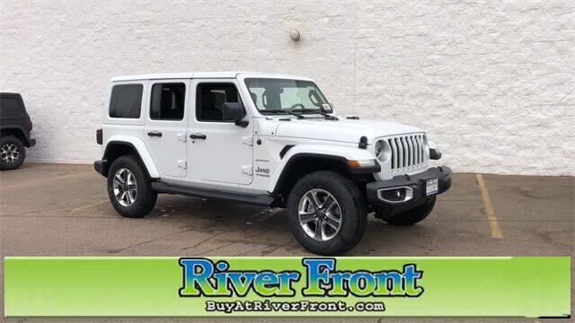 2021 Jeep Wrangler Unlimited for sale in North Aurora, IL