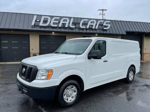 2016 Nissan NV Cargo for sale at I-Deal Cars in Harrisburg PA