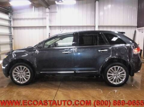 2013 Lincoln MKX for sale at East Coast Auto Source Inc. in Bedford VA