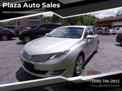 2013 Lincoln MKZ for sale at Plaza Auto Sales in Poland OH