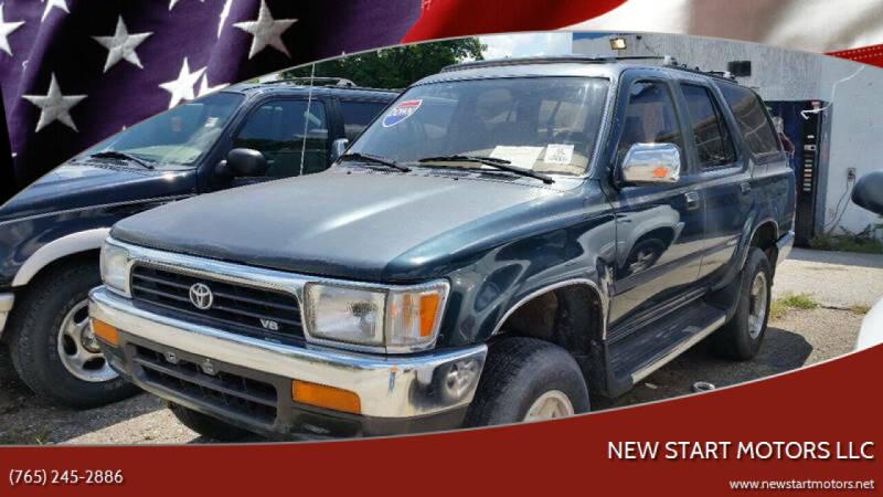 1994 Toyota 4Runner for sale at New Start Motors LLC in Montezuma IN