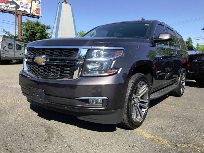 2015 Chevrolet Tahoe for sale at Autos Cost Less LLC in Lakewood WA