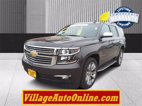 2015 Chevrolet Tahoe for sale at Village Auto in Green Bay WI