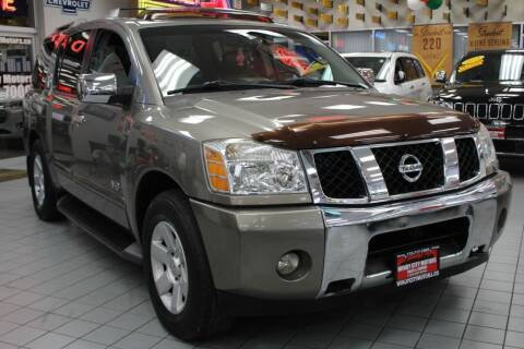 2006 Nissan Armada for sale at Windy City Motors in Chicago IL