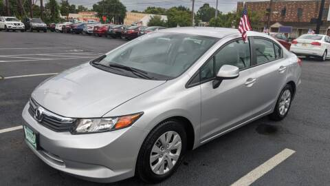 2012 Honda Civic for sale at Shaddai Auto Sales in Whitehall OH