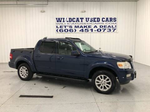 2007 Ford Explorer Sport Trac for sale at Wildcat Used Cars in Somerset KY