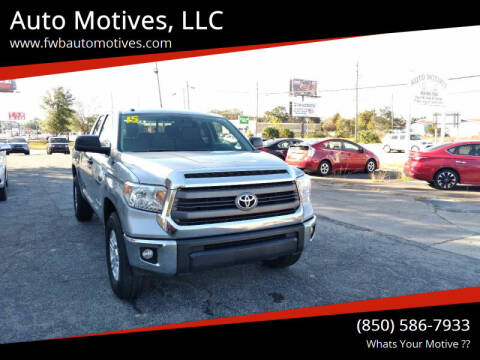 2015 Toyota Tundra for sale at Auto Motives, LLC in Fort Walton Beach FL