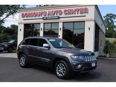 2014 Jeep Grand Cherokee for sale at DORMANS AUTO CENTER OF SEEKONK in Seekonk MA