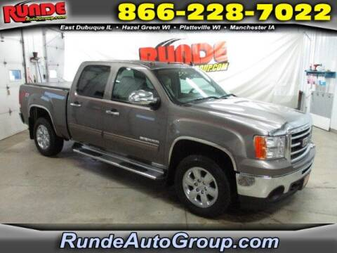 2013 GMC Sierra 1500 for sale at Runde Chevrolet in East Dubuque IL