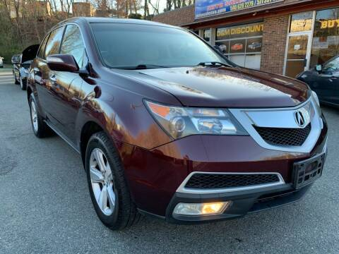 2010 Acura MDX for sale at D & M Discount Auto Sales in Stafford VA