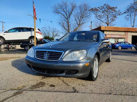 2005 Mercedes-Benz S-Class for sale at Lamarina Auto Sales in Dearborn Heights MI