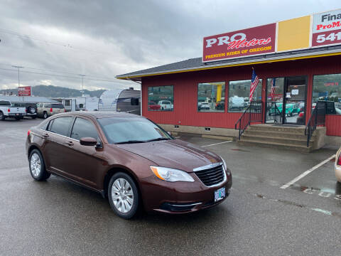 2013 Chrysler 200 for sale at Pro Motors in Roseburg OR