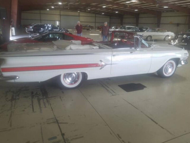 1960 Chevrolet Impala for sale at Hines Auto Sales in Marlette MI
