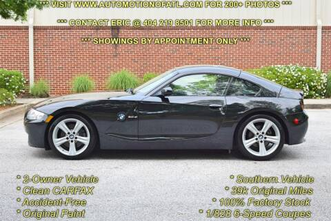 2007 BMW Z4 for sale at Automotion Of Atlanta in Conyers GA